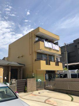 外壁塗装工事 名古屋市 守山区 完工